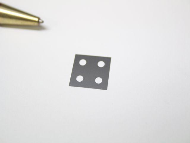 産業機器用SUS316 t0.1 シムプレート(シム板)画像
