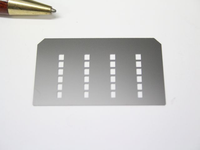 SUS304 t0.07 シムプレート(シム板)画像