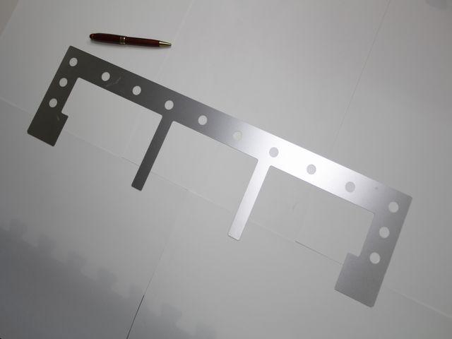 SUS304 t0.5 大型シムプレート(シム板)画像