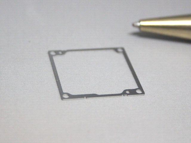 産業機器用SUS304 t0.15 シムプレート画像