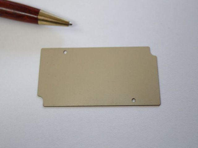 実験器用 インコネルt0.8 シムプレート画像