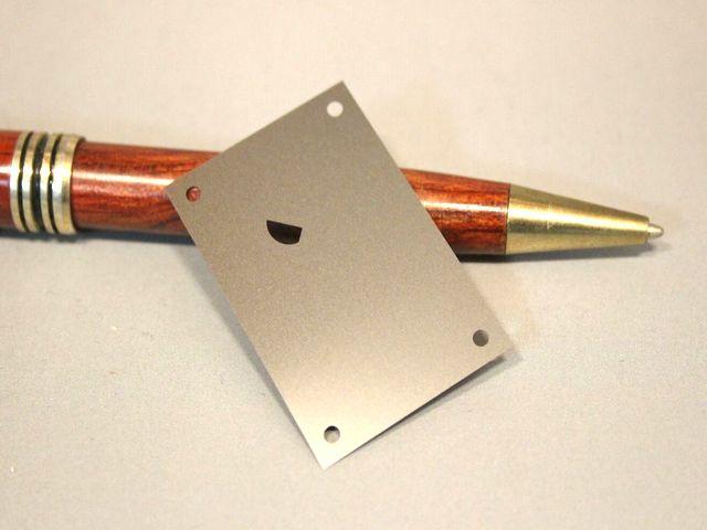 産業機器用SUS304 t0.35 シムプレート画像