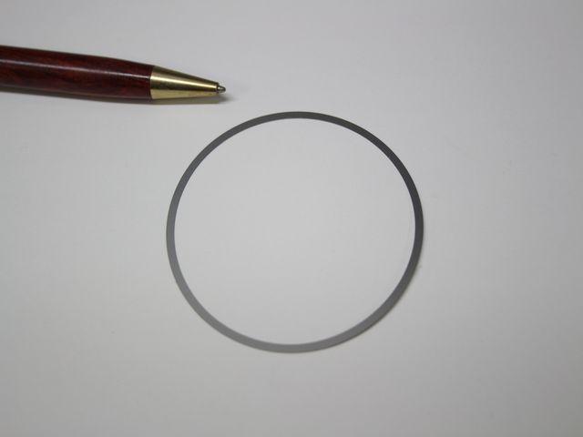 SUS304 t0.06 シムリング画像