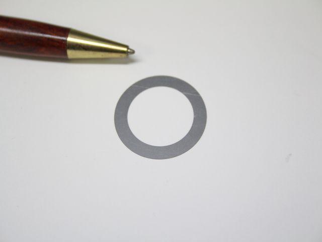 SUS304 t0.08 シムリング画像