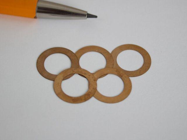 りん青銅 φ13×φ10 シムリング画像