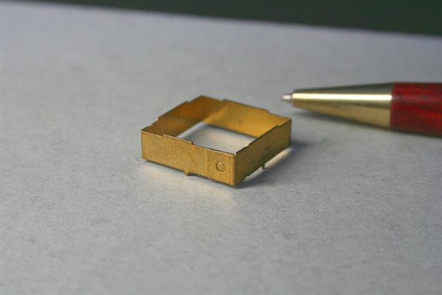 真鍮製シールドケース