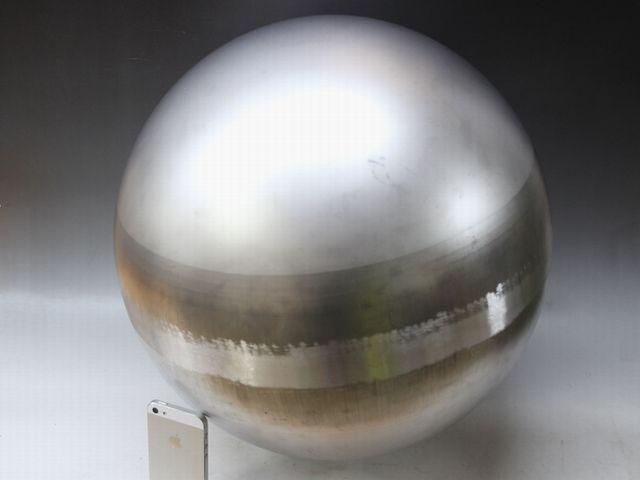 φ300×t1.5 ステンレス球体画像