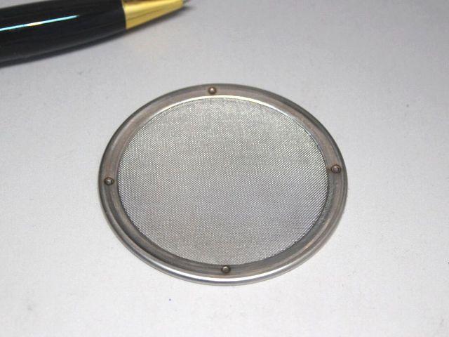 80メッシュ 円盤型ストレーナーメッシュ画像