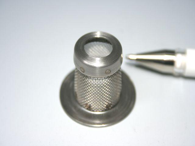 小型テンポラリーストレーナーメッシュ画像