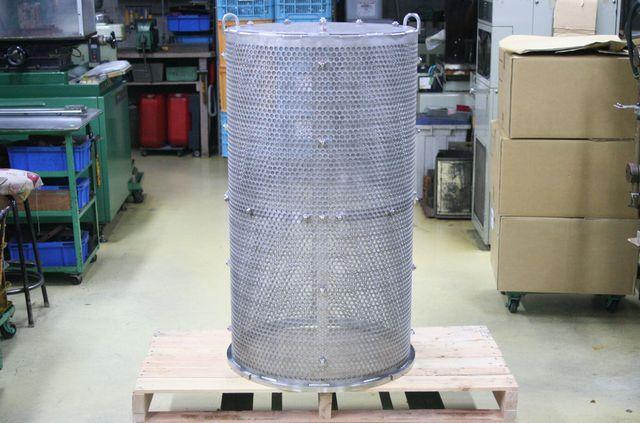 大型バケットストレーナーメッシュ画像