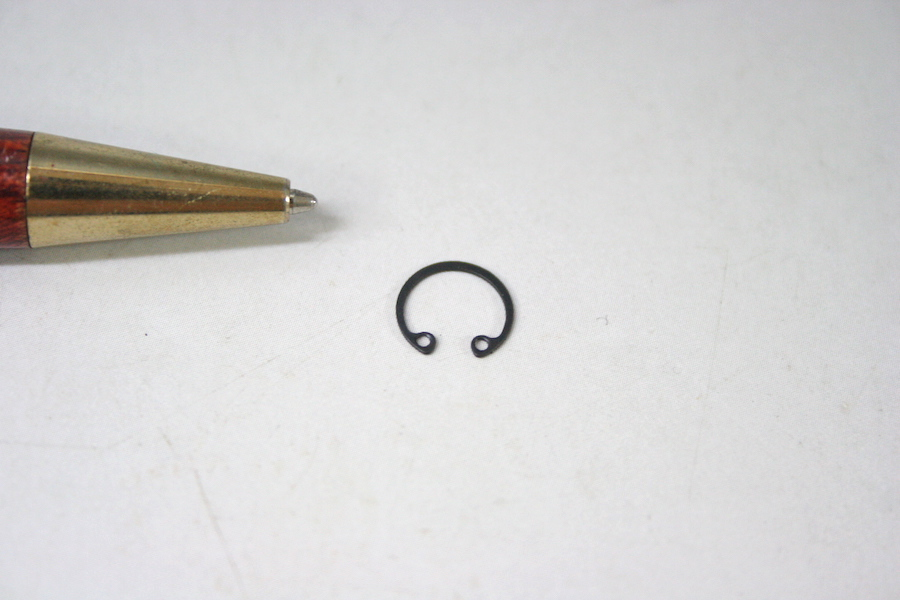 Φ7 内径用スナップリングのオーダー少量製作画像