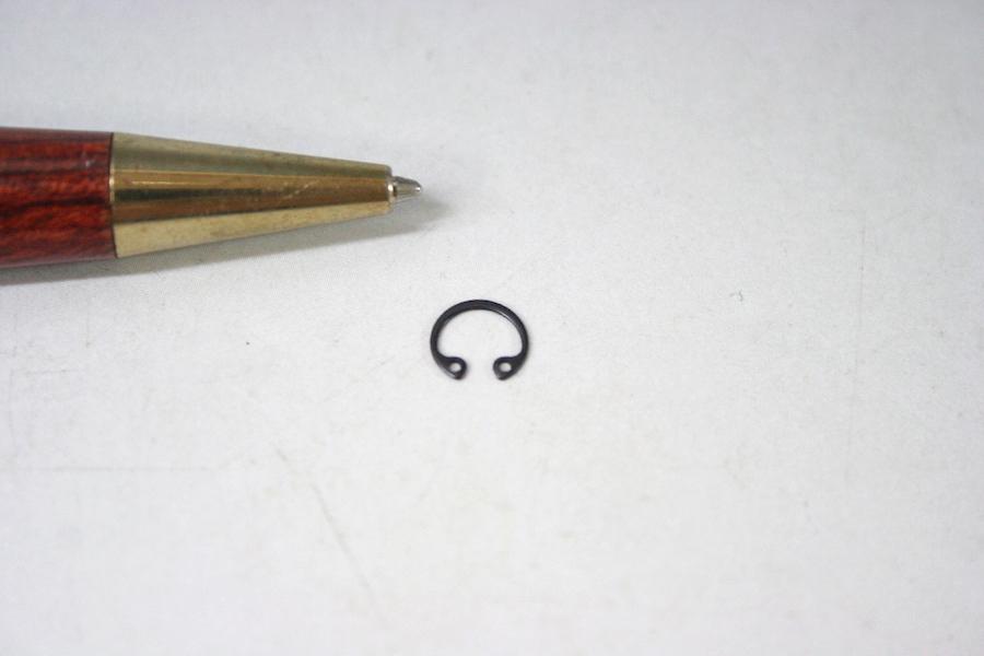 Φ5 内径用スナップリングのオーダー少量製作画像