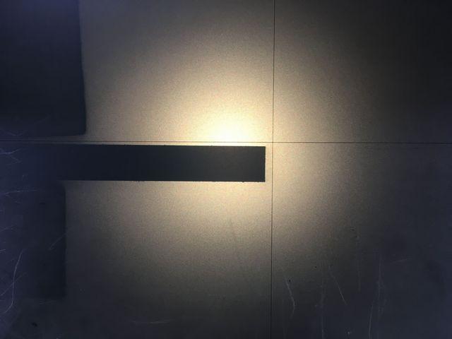 スペーサーの高精度カット画像