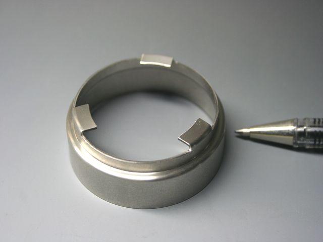 切削加工と、ワイヤーカットの組み合わせ加工