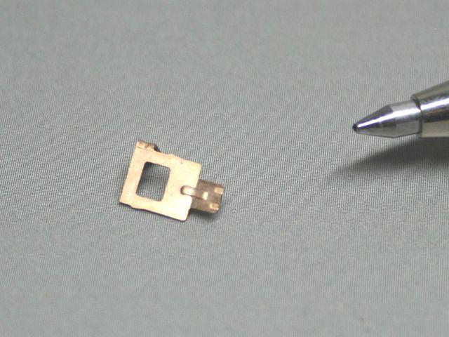 りん青銅接点バネの試作(超精密板金)画像