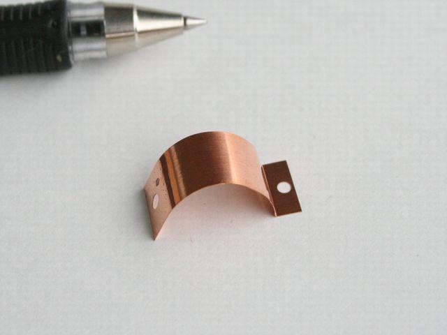 りん青銅接点バネ 特注製作画像