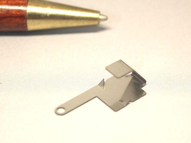 電池端子の少量製作画像