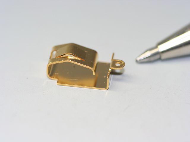 りん青銅接点バネ 限定製作(精密板金)画像
