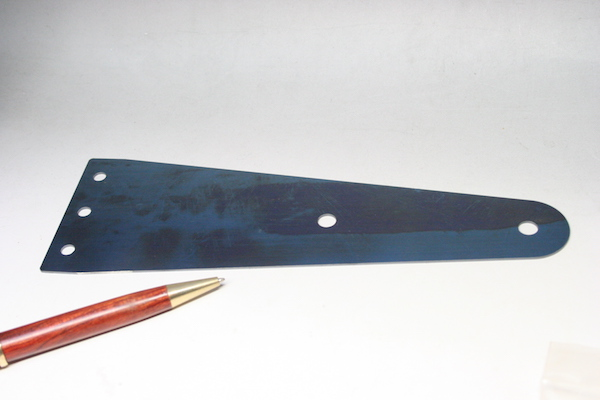 ベーナイト鋼の平板バネ 限定・少量生産画像