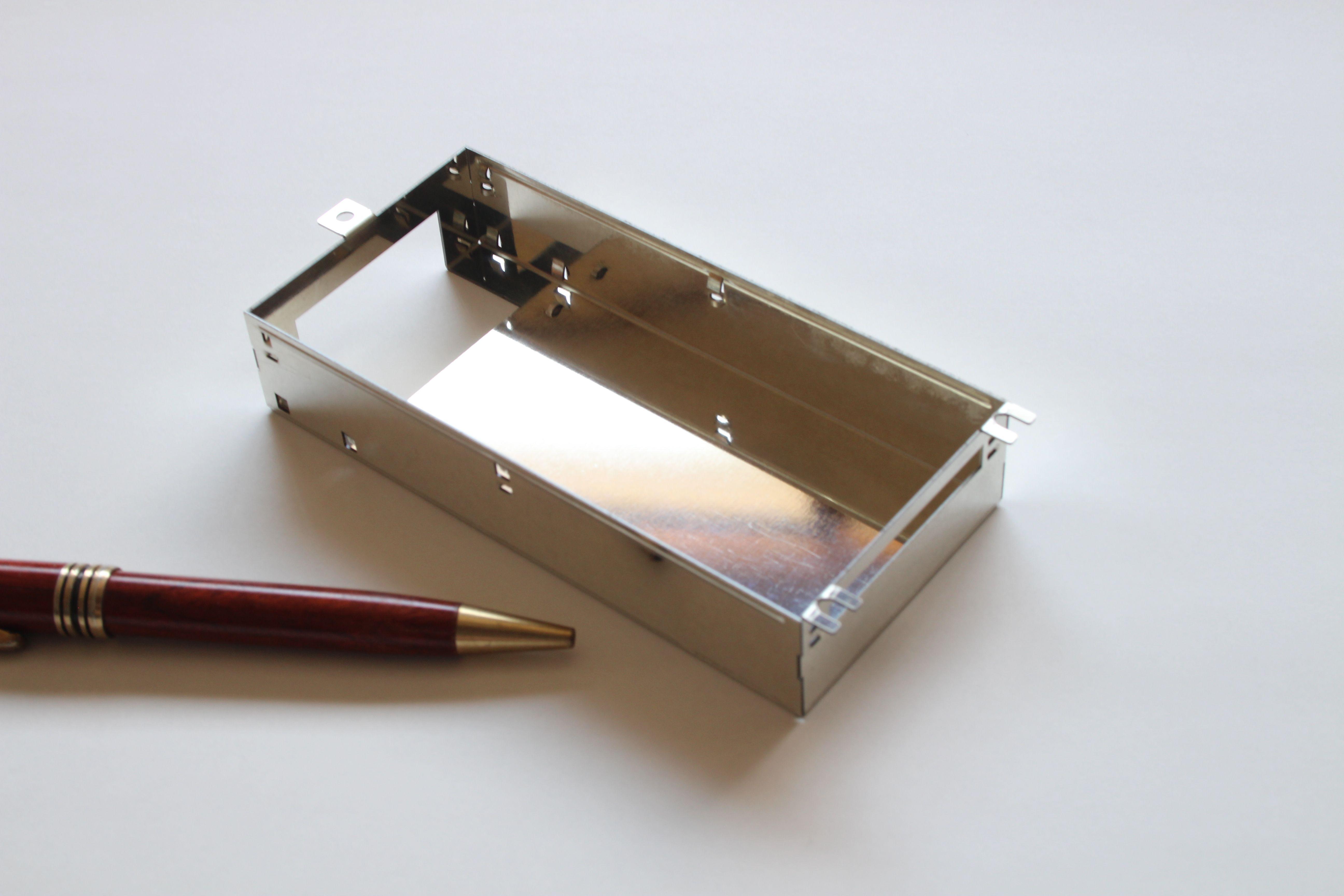 板金試作 簡易金型での製作画像