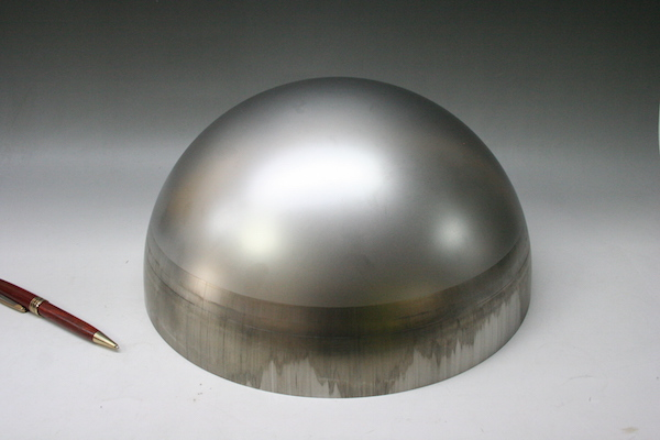Φ250 ステンレス製 半球画像