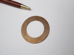銅製ワッシャーの少量製作画像