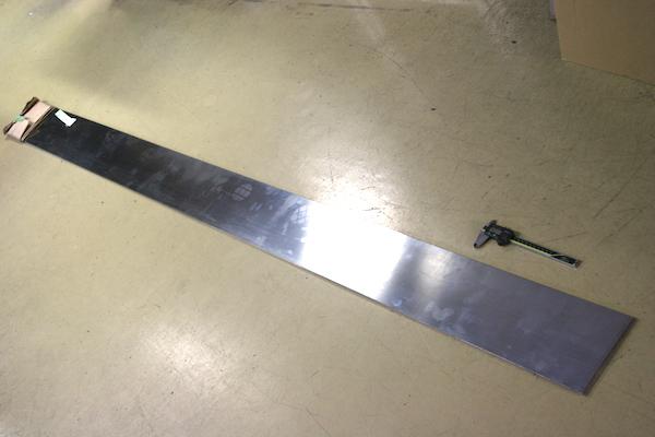 バネ用ステンレスの幅切り 材料販売画像
