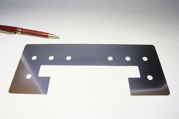 ステンレス製 シム(スペーサー)の少量生産画像