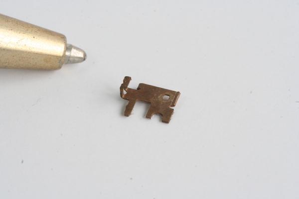 りん青銅(C5210) 精密接点バネ 試作画像