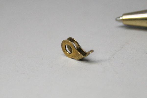 真鍮(黄銅)製 微細部品の少量生産画像