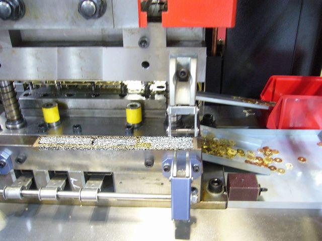 真鍮 シムリングの量産対応画像