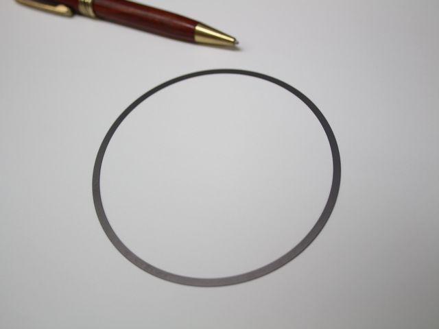 インコネル シムプレート画像