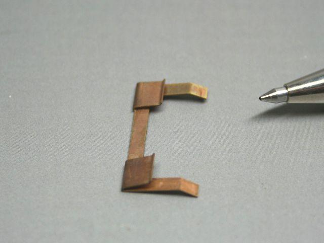 りん青銅接点の試作(精密板金)画像