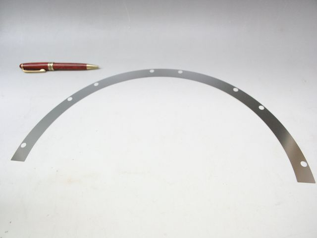 SUS304 t0.2 半円シムプレート(シム板)画像