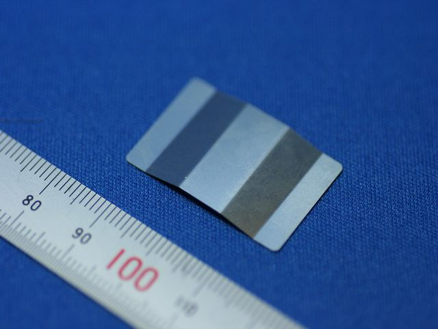 精密板金部品 板バネ(板ばね)SUS301 3/4 H t0.2画像