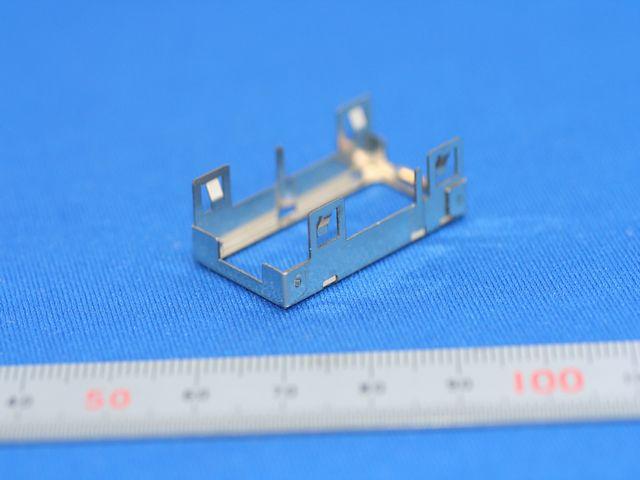 アルミ小部品の精密板金加工(板金加工)画像