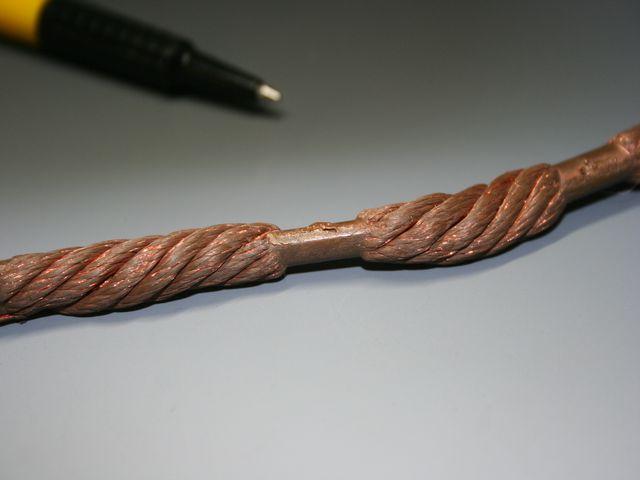 マグネットワイヤのヒュージング画像