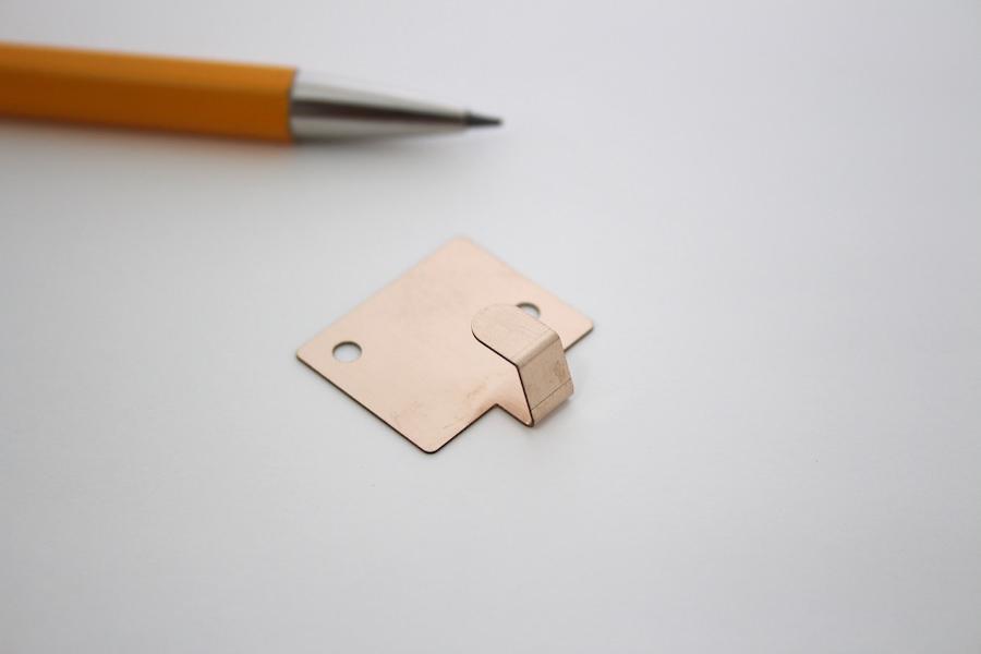 接点用板バネ リン青銅 t0.3画像