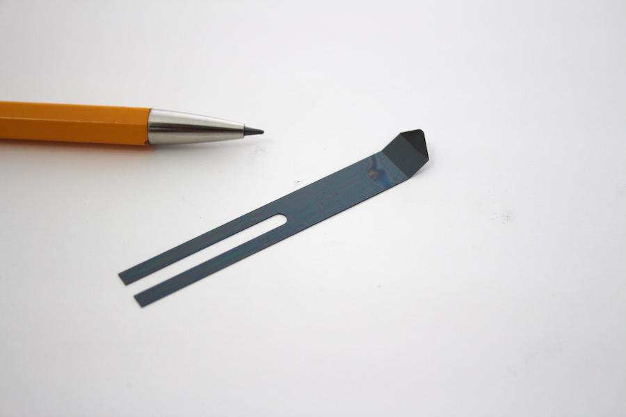 リボン鋼 t0.15 押さえ用板バネ画像