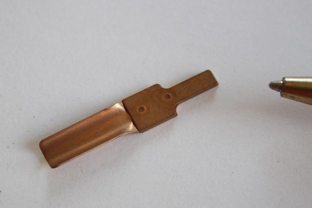 りん青銅t0.2 接点部品画像