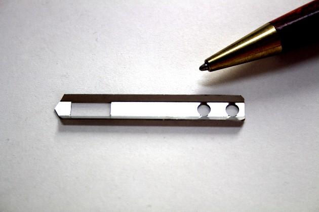 SUS304t0.4 精密板金 金型レス製作