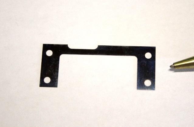 焼入れリボン鋼t0.28 シムプレート画像