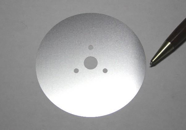 SUS304t0.3 φ120×φ12 シムリング画像