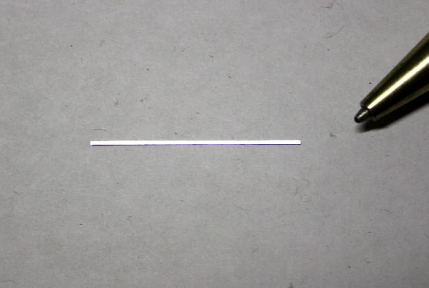 幅0.5mm×長さ30mm 材料カット画像