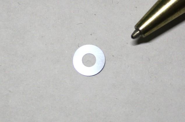SUS304 φ6.0×φ3.0 t0.005シムリング画像
