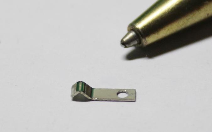 りん青銅接点バネt0.3 ニッケルメッキ画像