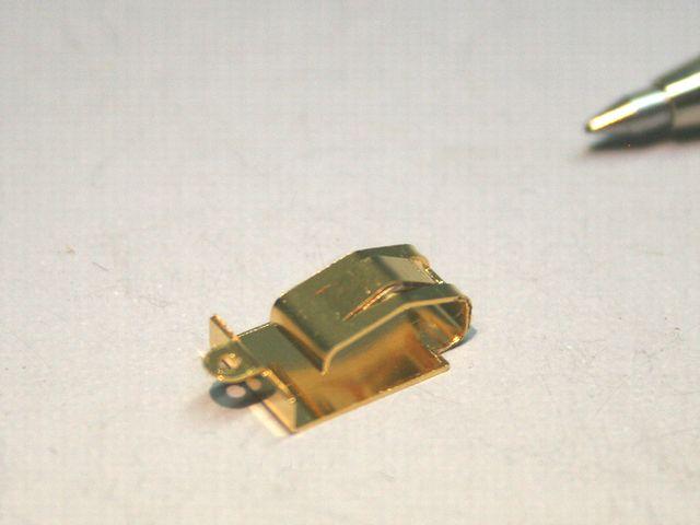 ベリリュム銅 接点バネ画像