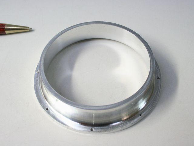 カラーホルダ(アルミ円筒形切削成形)画像