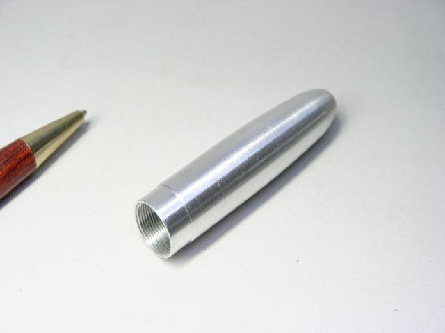 万年筆胴軸の製作(切削加工)