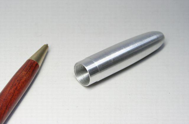 アルミ製万年筆胴軸 特注製作